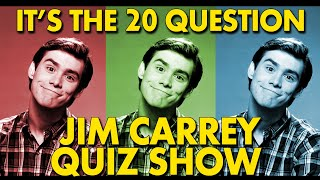 The 20 Question Jim Carrey Quiz Show - movies, life and tv trivia about this entertaining genius