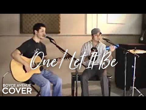 Music video Boyce Avenue - One / Let It Be