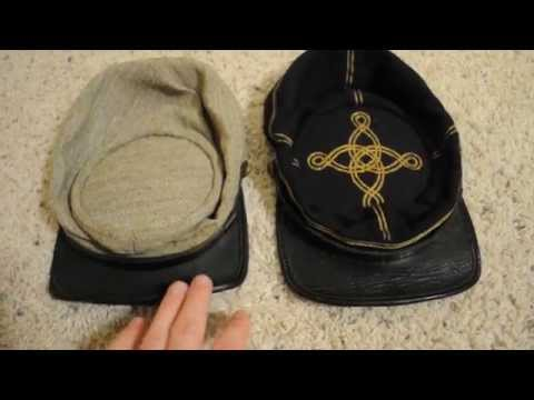 Union & Confederate Civil War Kepi (Greg Starbuck)