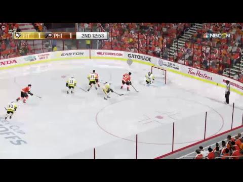 Round 1 Game 1's; Sabres vs Leafs, Flyers vs Pens, Blackhawks vs Jets, Sharks vs Canucks