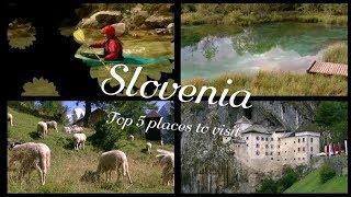 Slovenië - Top 5 plaatsen om te bezoeken