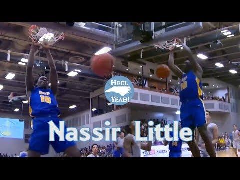 Nassir Little UNC Commit Highlights (24 Points) vs RJ Barrett (Duke) and Montverde