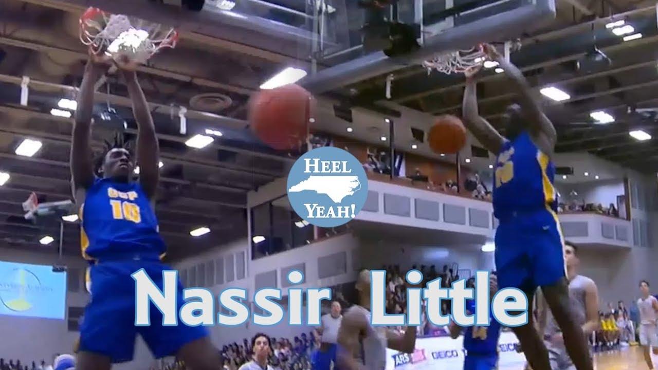 578f5afb962 Nassir Little UNC Commit Highlights (24 Points) vs RJ Barrett (Duke) and  Montverde