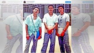 Difunden fotografía del oscuro pasado de Larry Hernández en el Cobaes