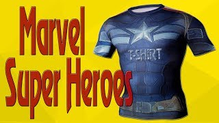 Marvel t shirts review   Marvel superhero t shirts   top superhero t shirts