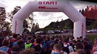 Bergen Fjellmaraton 2016, 21.1 km over Vidden