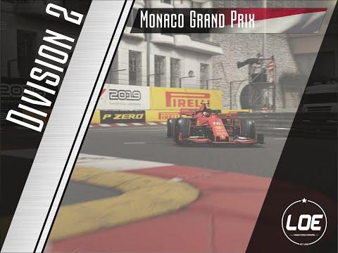 F1 2019 | League of Europe | D2 | Round 8 | Monaco