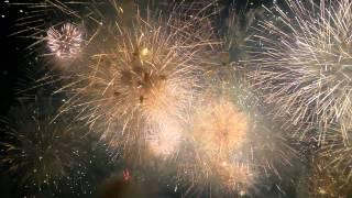 Fêtes de Genève 2015 feux d'artifice final