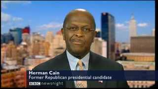 Herman Cain Interview on U.S Presidential Race -28 Feb 2012