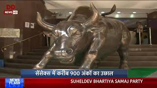 Topline: Sensex soars after exit poll predict NDA win | 20/05/…
