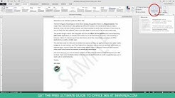 How to Add or Remove Watermarks From Word Documents