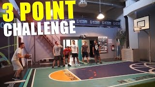 🏀 3 POINT CHALLENGE! BASKETBALL w/ Brazo, S7ormy, Bertra & Leo