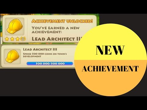 Township Level 51 - Unlock achievement Lead Architect III