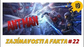 Zajímavosti a Fakta #22 - ANT-MAN