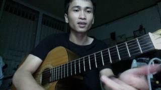 Mưa Hồng | Tập đánh ghép giai điệu và hợp âm (độc tấu) | Lê Trung Hoàng