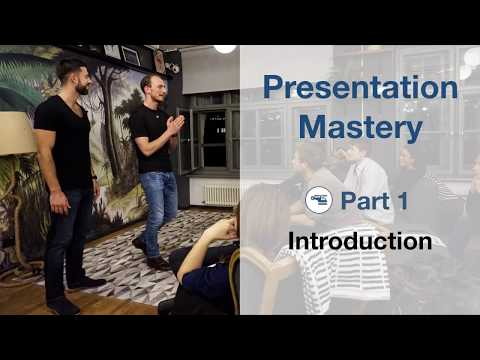 Public Speaking Mastery Workshop at WeWork Berlin - Jimmy Naraine & Alex T Steffen