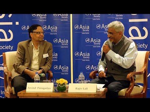 In Conversation: Arvind Panagariya & Rajiv Lall (Complete)