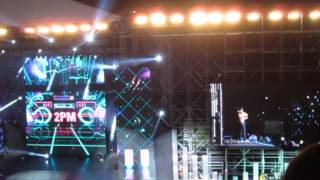 2PM - Hands Up [FANCAM] Music Bank in Indonesia