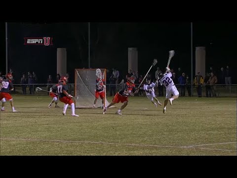 James Pannell scores on a question mark