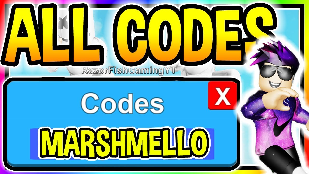 ALL 6 NEW GIANT DANCE OFF SIMULATOR CODES - Marshmello ...
