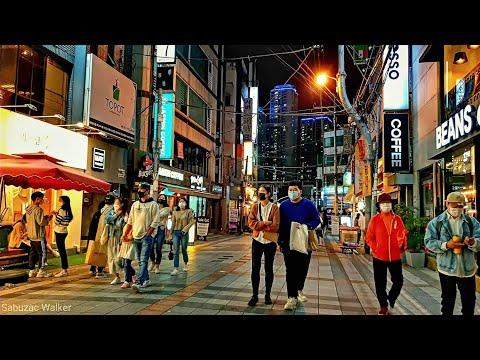 [4K] Walking tour around Pusan National University. S Korea   부산대학교 주위 투어