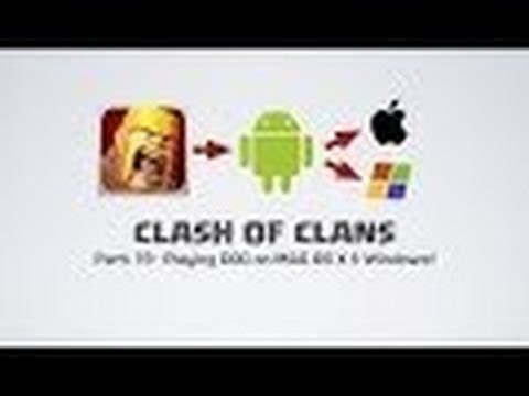 how to play clash of clans offline bluestacks