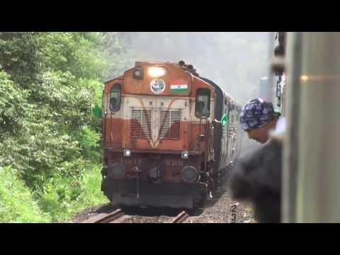 12 HOURS LATE 22149 ERNAKULAM - PUNE POORNA EXPRESS CROSSING 12051 MUMBAI - GOA JAN SHATABDI EXPRESS