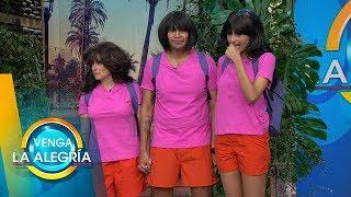 Nuestros conductores concursaron por el papel de Dora, ¿quién fue el mejor? | Venga La Alegría