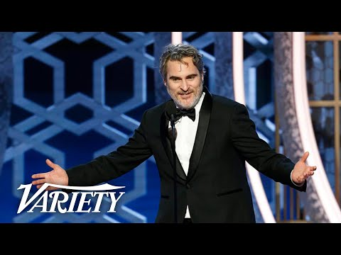 Romeo - Joaquin Phoenix Drops F-Bombs at the Golden Globes
