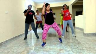 Easy daily workout, bollywood aerobics..