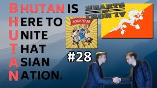 HoI4 - Road to 56 mod - Bhutan Is Here To Unite That Asian Nation -Part 28- Germany is about to fall