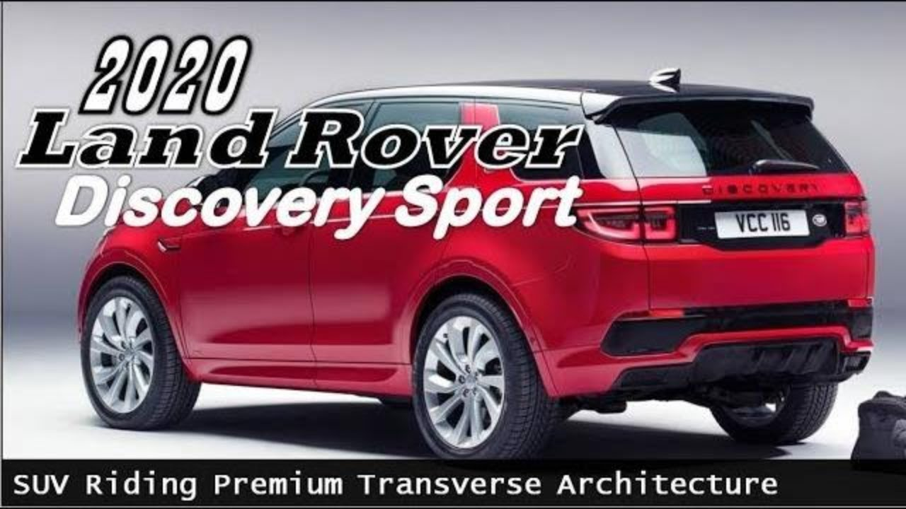 2020 Land Rover Discovery Sport Price   With New Platform Who added Electrification