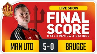 GOLDBRIDGE! Manchester United 5-0 Club Brugge Match Reaction