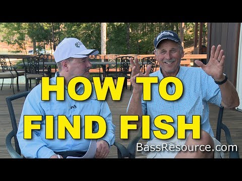 How To Find Fish On Unfamiliar Lakes | Bass Fishing