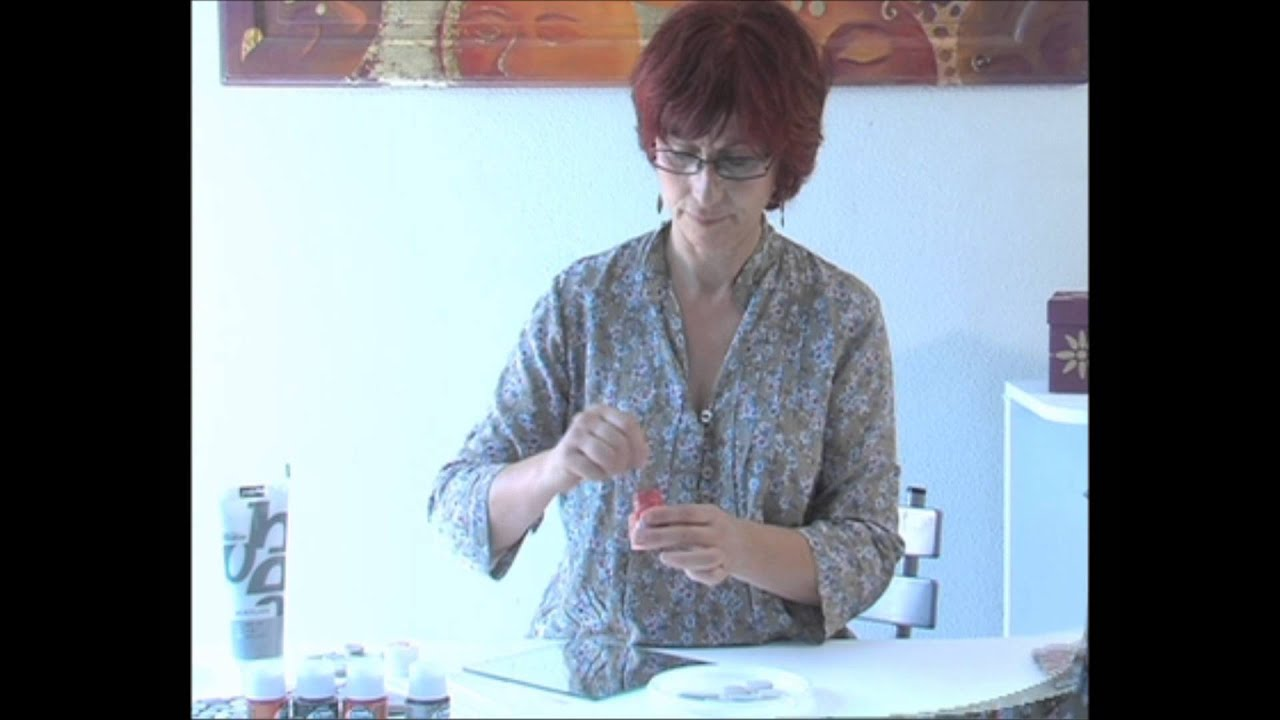 Tuto d corer un miroir avec les peintures prisme youtube for Miroir youtube