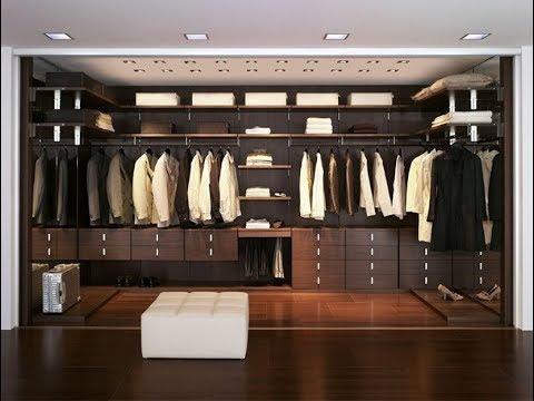 modern walk in closet designs wardrobe design ideas youtube rh youtube com small modern walk in closet design
