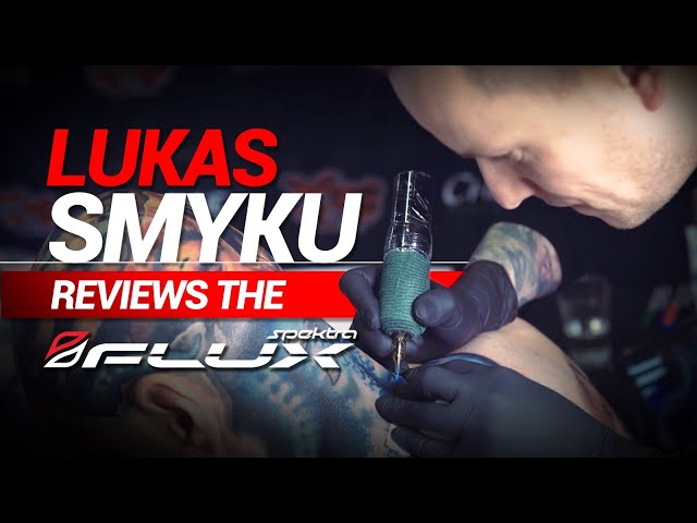 Lukas Smyku Goes Wireless with the Spektra Flux Tattoo Machine