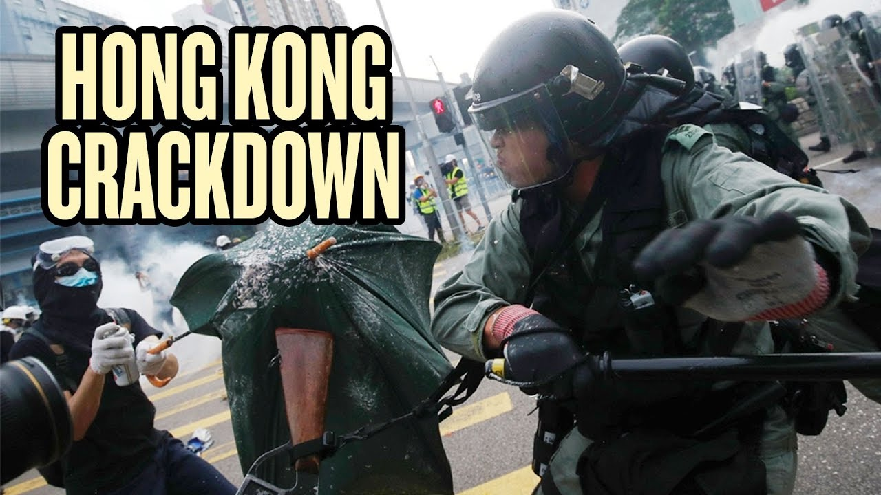 Hong Kong leader suggests harsher crackdown on protests after ...
