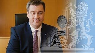 Dr. Markus Söder ist neuer Bayerischer Ministerpräsident - Bayern