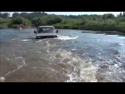 как топят машины на рыбалке