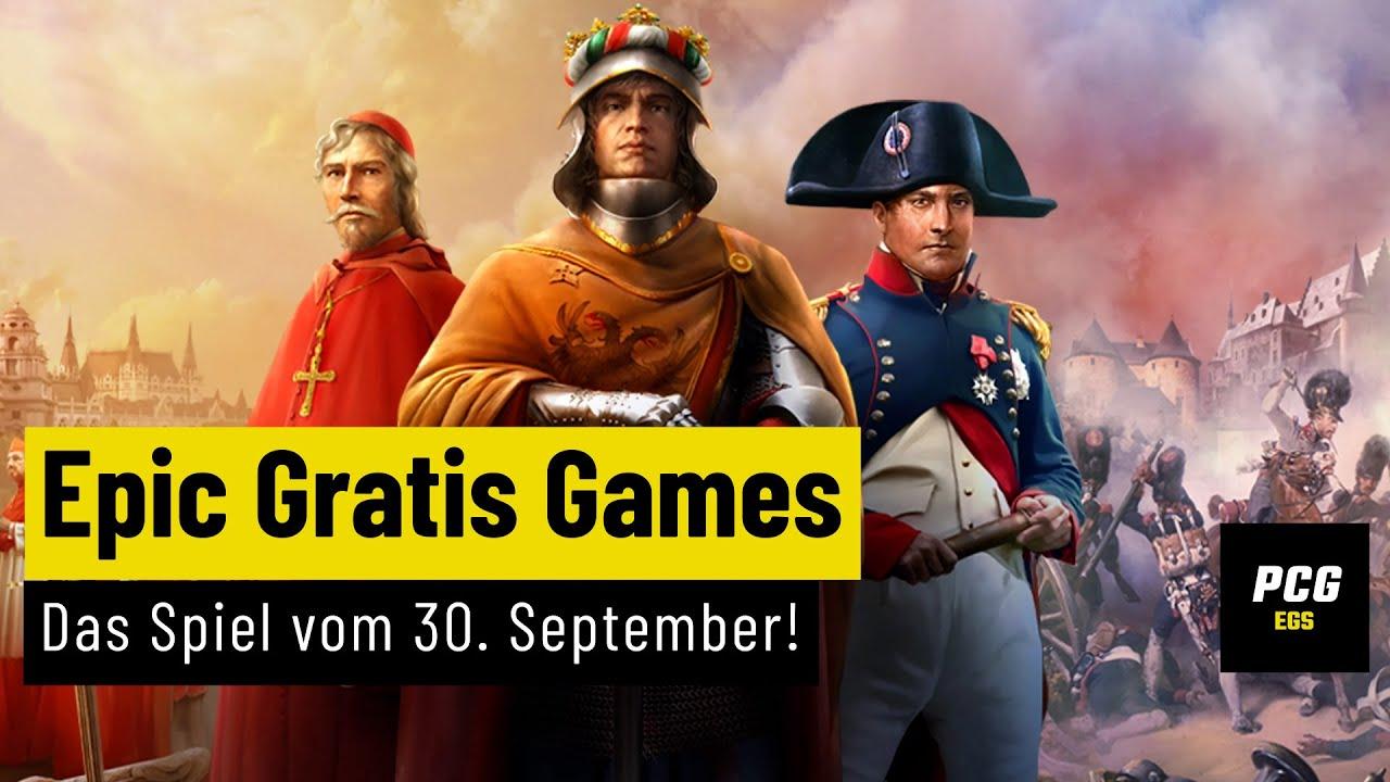 Globalstrategie vom Feinsten!   Die Epic-Gratis-Games vom 30. September!