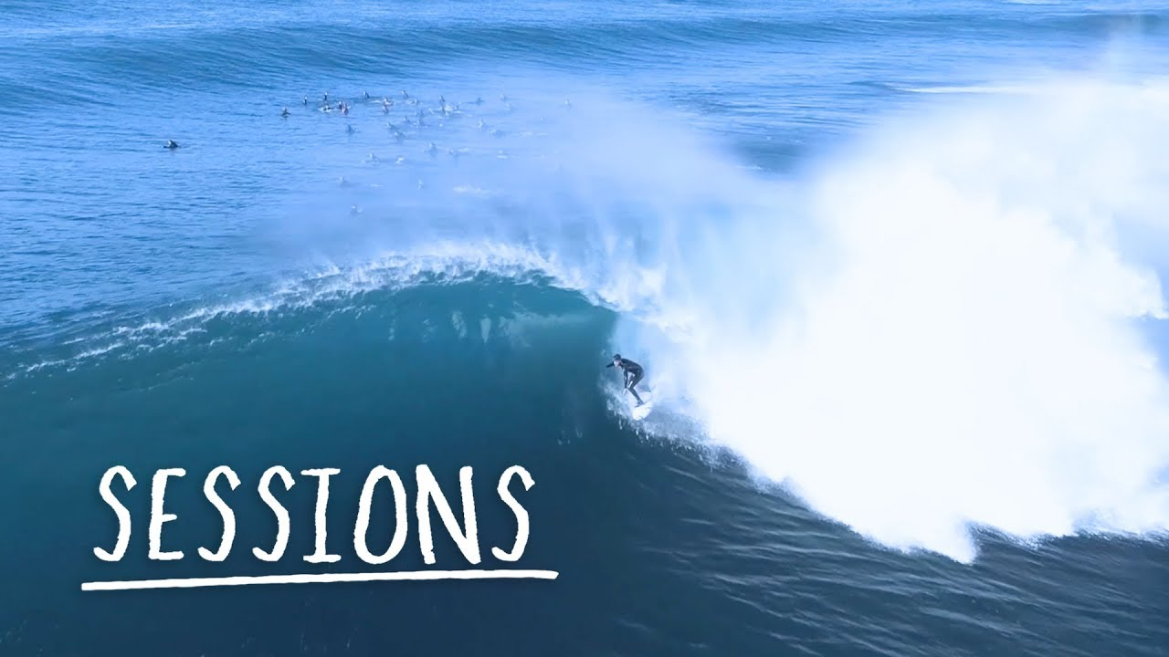 Drone Captures The Epic Waves of Sydney