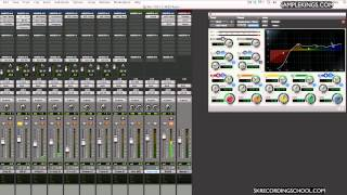 Pro Tools 10 DVDs Lessons:Drum Mixing 3