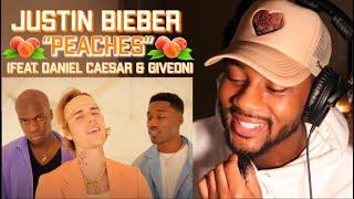 Justin Bieber - Peaches ft. Daniel Caesar, Giveon 🔥 REACTION