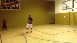 2015 Jachai Taylor in Fresno Working Out