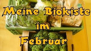 Meine Biokiste im Februar mit teilweise regionalen Lebensmitteln