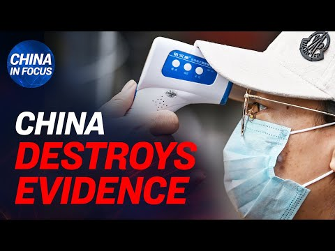 China intentionally hid virus evidence: Report; Footage from N95 mask factory raises concerns