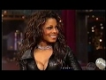 Janet Jackson on David Letterman - FULL