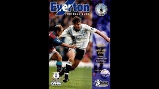 Everton vs West Ham United 1995/96