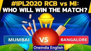 IPL 2020: MI vs RCB: Mumbai would look avenge previous match's defeat with Bangalore